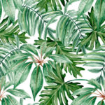 Papel pintado tropical en Leroy Merlin